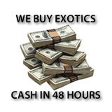 We buy Exotic Cars